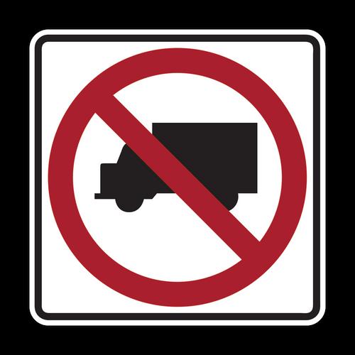 R5-2 No Trucks