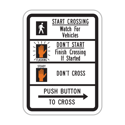 R10-3b Push Button to Cross