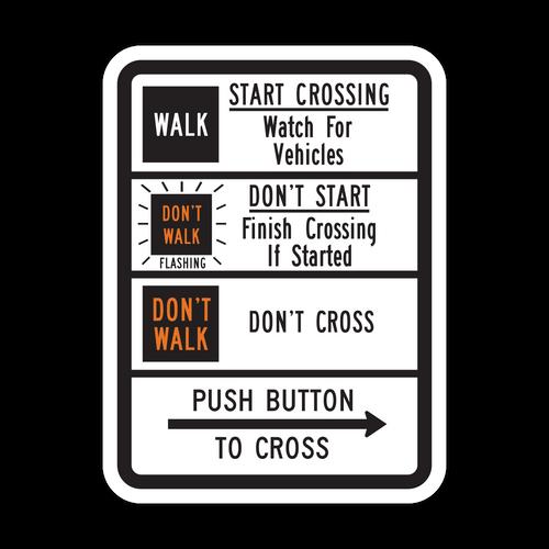 R10-3c Push Button to Cross