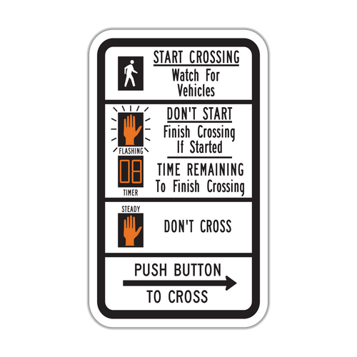 R10-3e Push Button to Cross Street