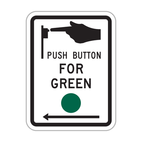 R10-4 Push Button for Green Signal