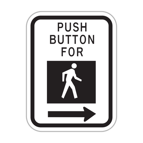 HR10-4b Push Button - Cross