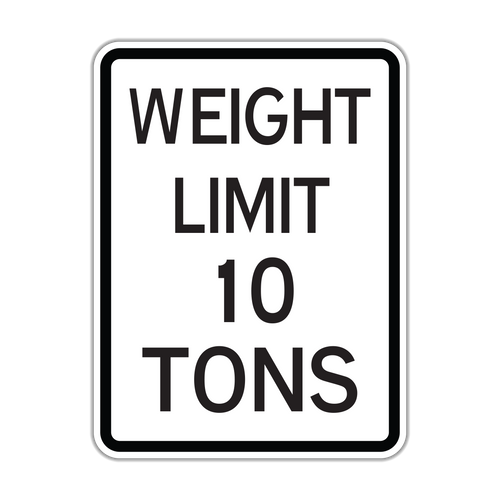 R12-1 Weight Limit XX Tons