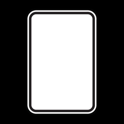 HR7-113b Black Border on White
