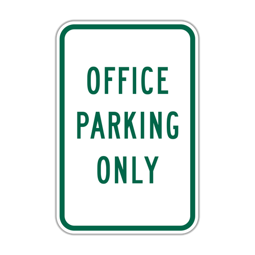 OPO Office Parking Only