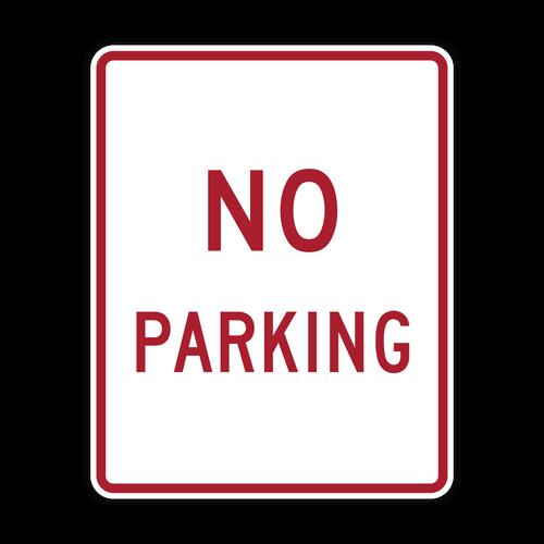 R8-3a No Parking