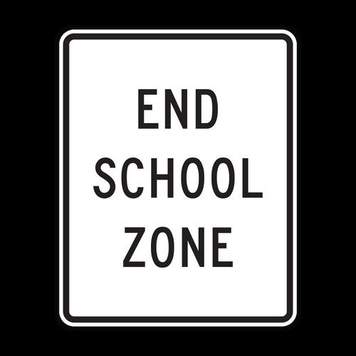 S5-2 End School Zone