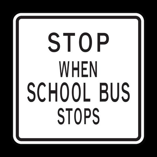 HR5-11 Stop When School Bus Stops