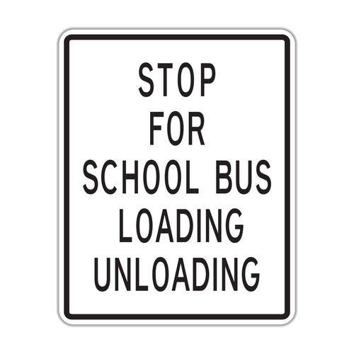 HR5-13 Stop for School Bus Loading Unloading