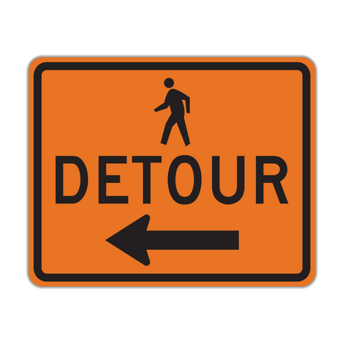 M4-9b Pedestrian Detour
