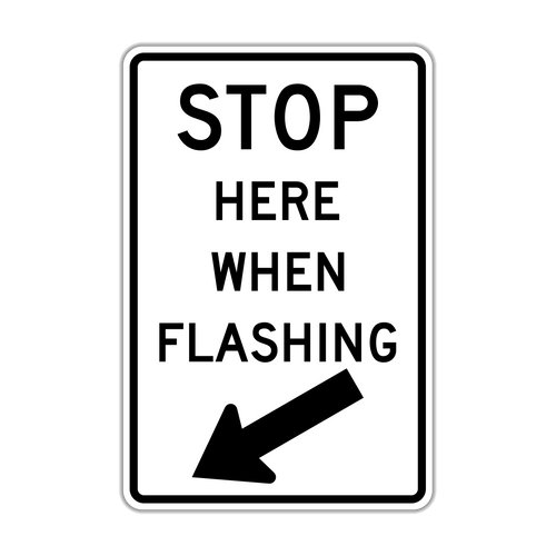 R8-10 Stop Here When Flashing