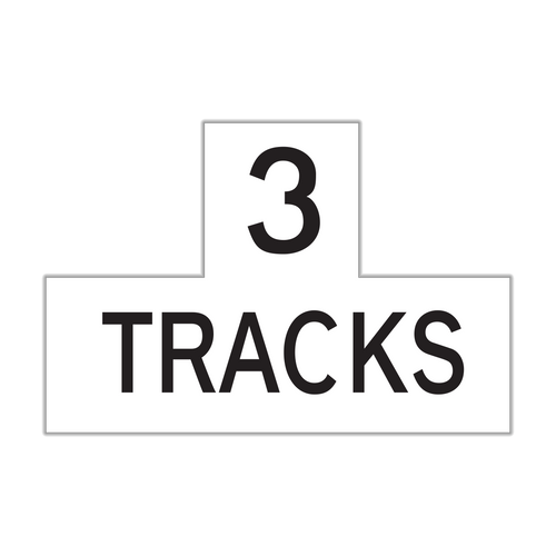 R15-2P Number of Tracks