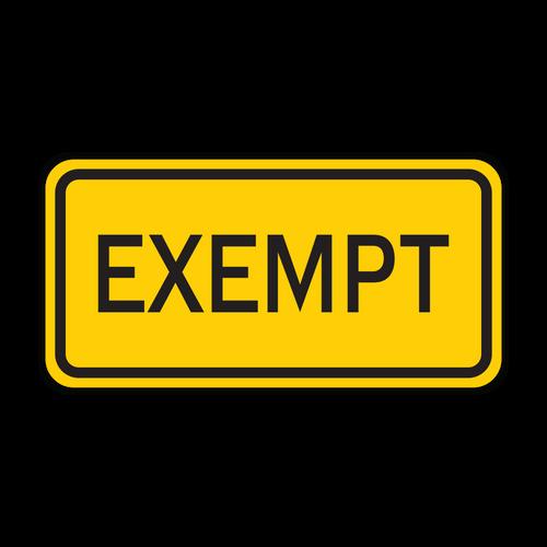 W10-1aP Exempt