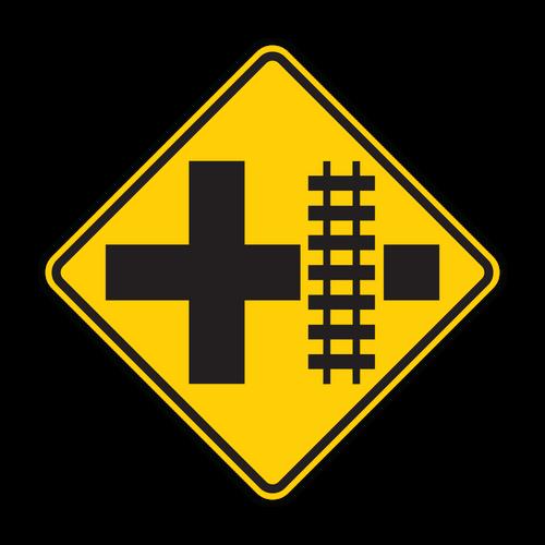 W10-2 Railroad Advance Warning