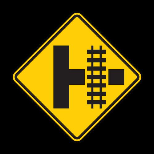 W10-3 Railroad Advance Warning
