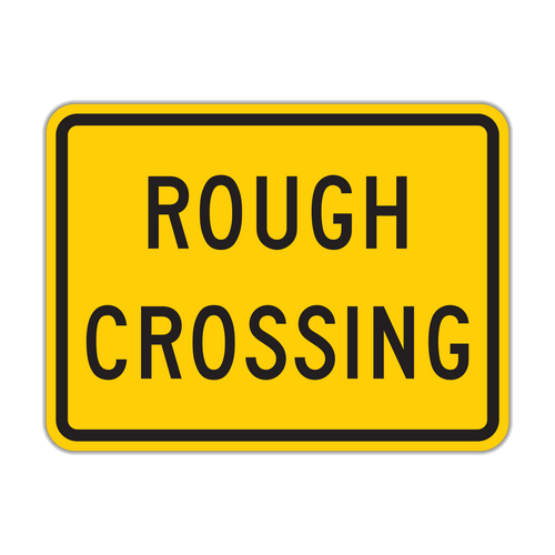 W10-15P Rough Crossing