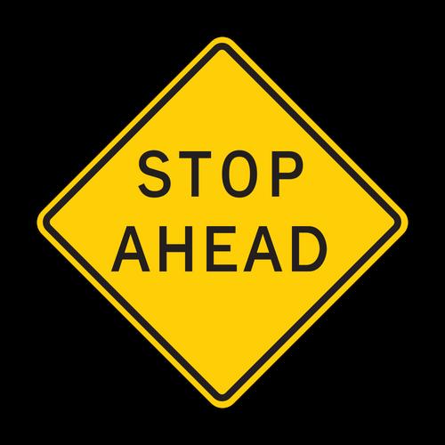 HW3-1a Stop Ahead