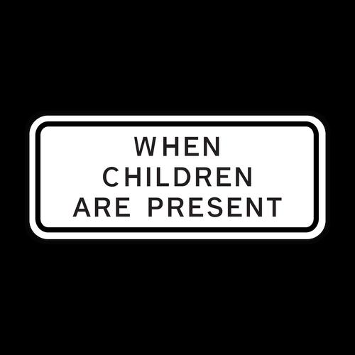 S4-2P When Children Are Present
