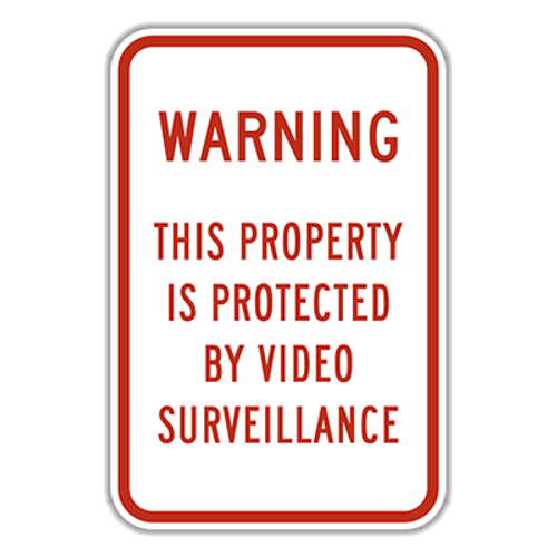 WVS Warning This Property Is Protected by Video Surveillance