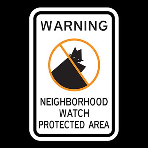 WNP Warning Neighborhood Watch Protected Area