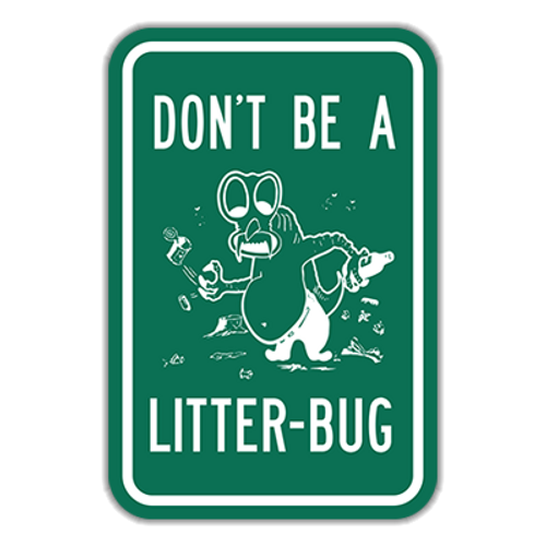 LB Don't Be A Litter-Bug