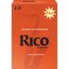 Rico Tenor Sax Reeds, Strength 2.0, 50-pack