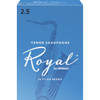 Rico Royal Tenor Sax Reeds, Strength 2.5, 10-pack