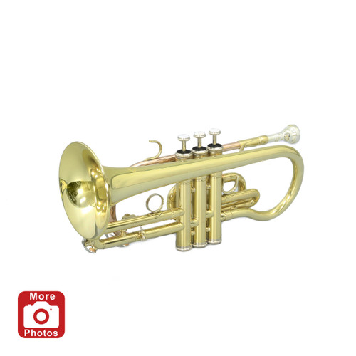 Legacy CT750Y Intermediate Cornet w/ Deluxe Convertible Case and 2 Year Warranty