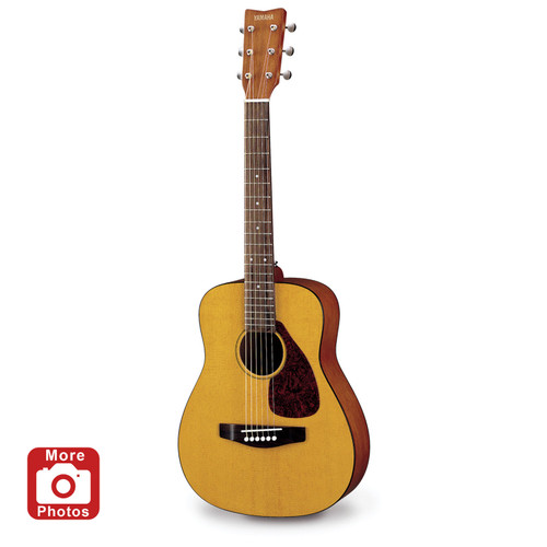 Yamaha JR1 3/4 Size Acoustic Guitar with Gig Bag; Natural Finish
