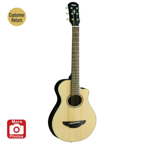 Yamaha APXT2NA Acoustic-Electric Guitar; 3/4 Size Customer Return