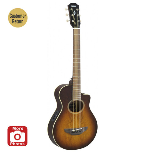 Yamaha APXT2EWTBS A/E Guitar; Tobacco Brown Sunburst; 3/4 Size Customer Return