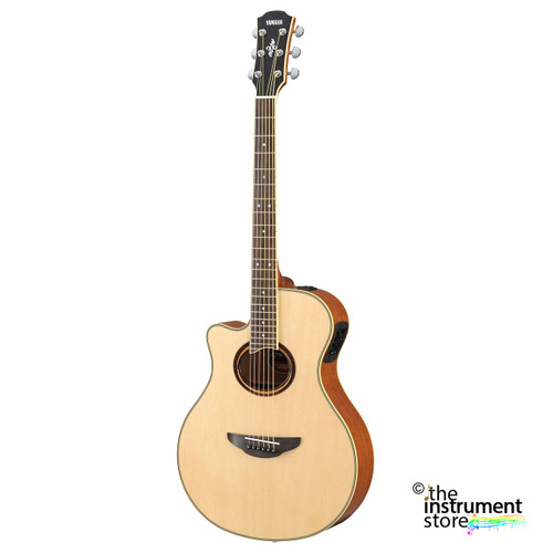 Yamaha APX700IIL Acoustic-Electric Guitar; Left-Handed Customer Return