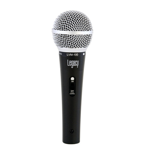 Legacy LVM-100 Dynamic Vocal Microphone