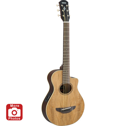 Yamaha APXT2EWNA Acoustic-Electric Guitar; Exotic Wood; 3/4 Size