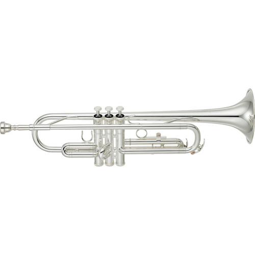 Yamaha YTR-2330SC Standard Bb Trumpet, Silver-Plated, Monel Alloy Valves, 11B4 Mouthpiece