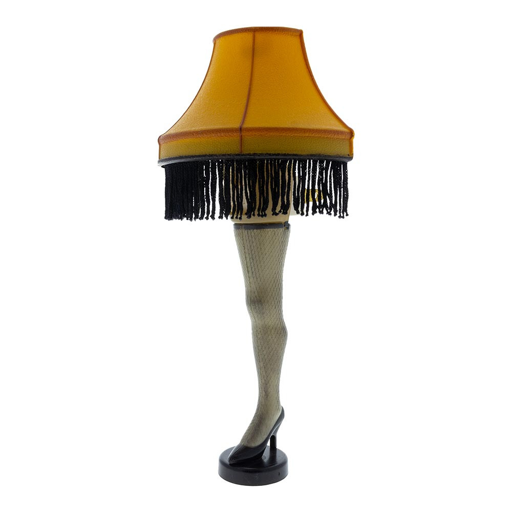 "It must be a lamp! This Leg Lamp Night Light is straight out of the classic Christmas Story movie but stands only 8"" tall."