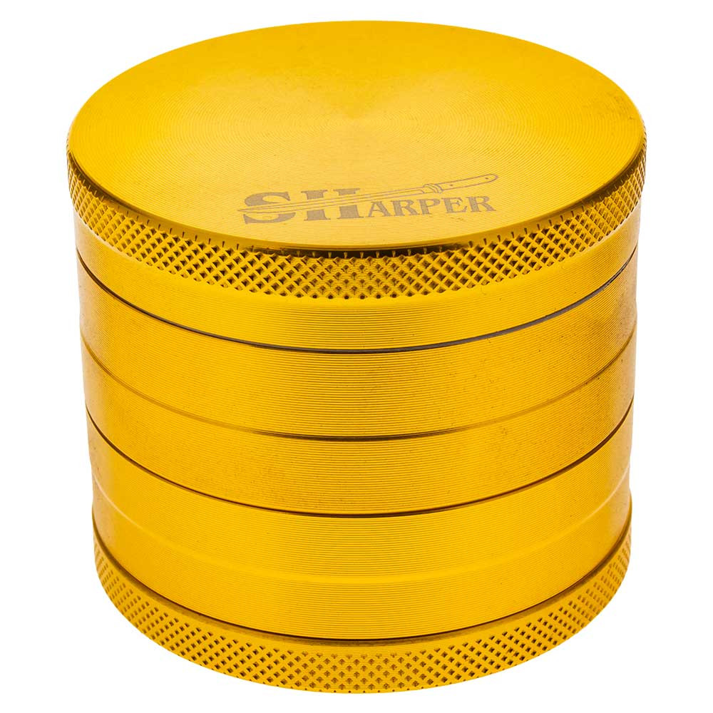 "Concave Grinders from Sharp are 2"" tall and 55mm, or 2.25"", in diameter."