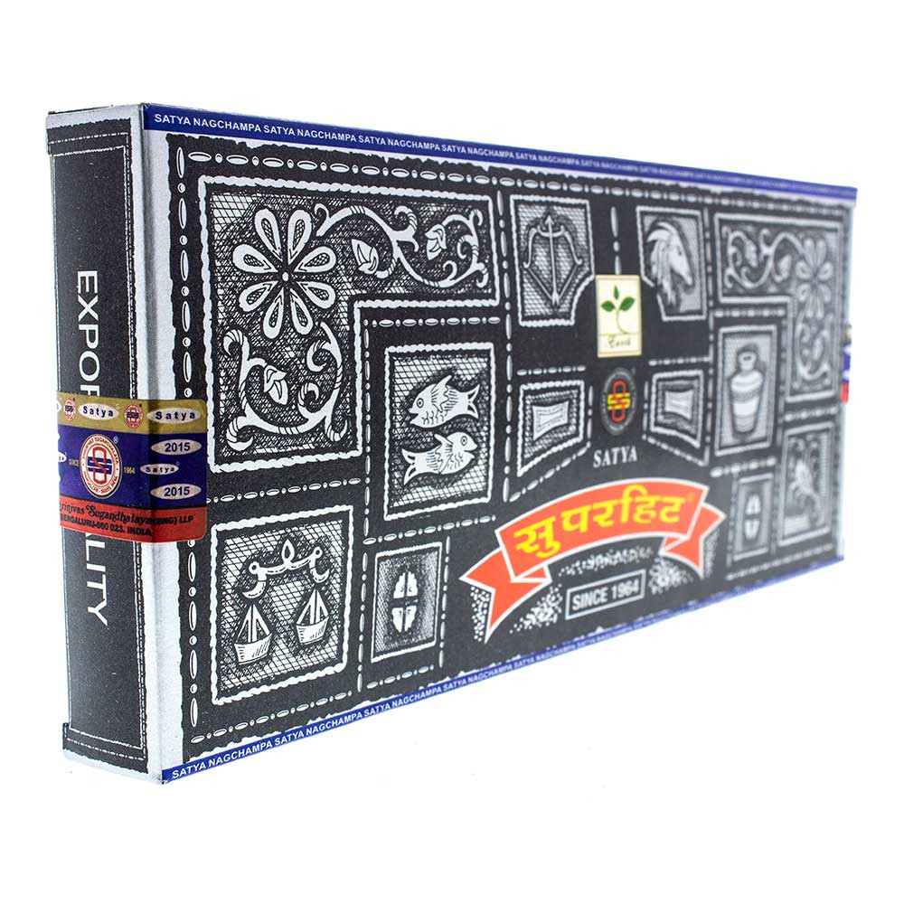 All Staya incense comes boxed and sealed, stamped with the year of production.