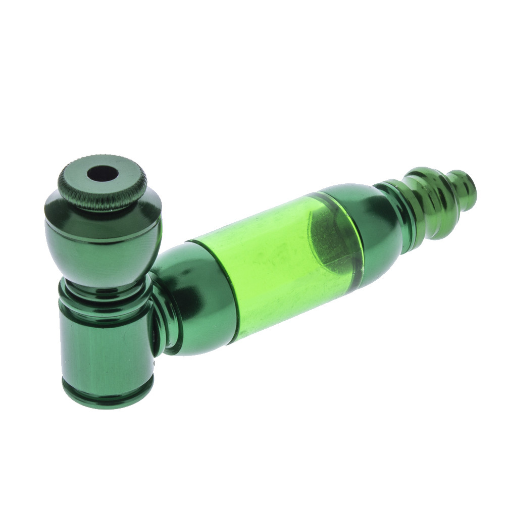 Anodized Pipe with Medium Acrylic Chamber, Assorted