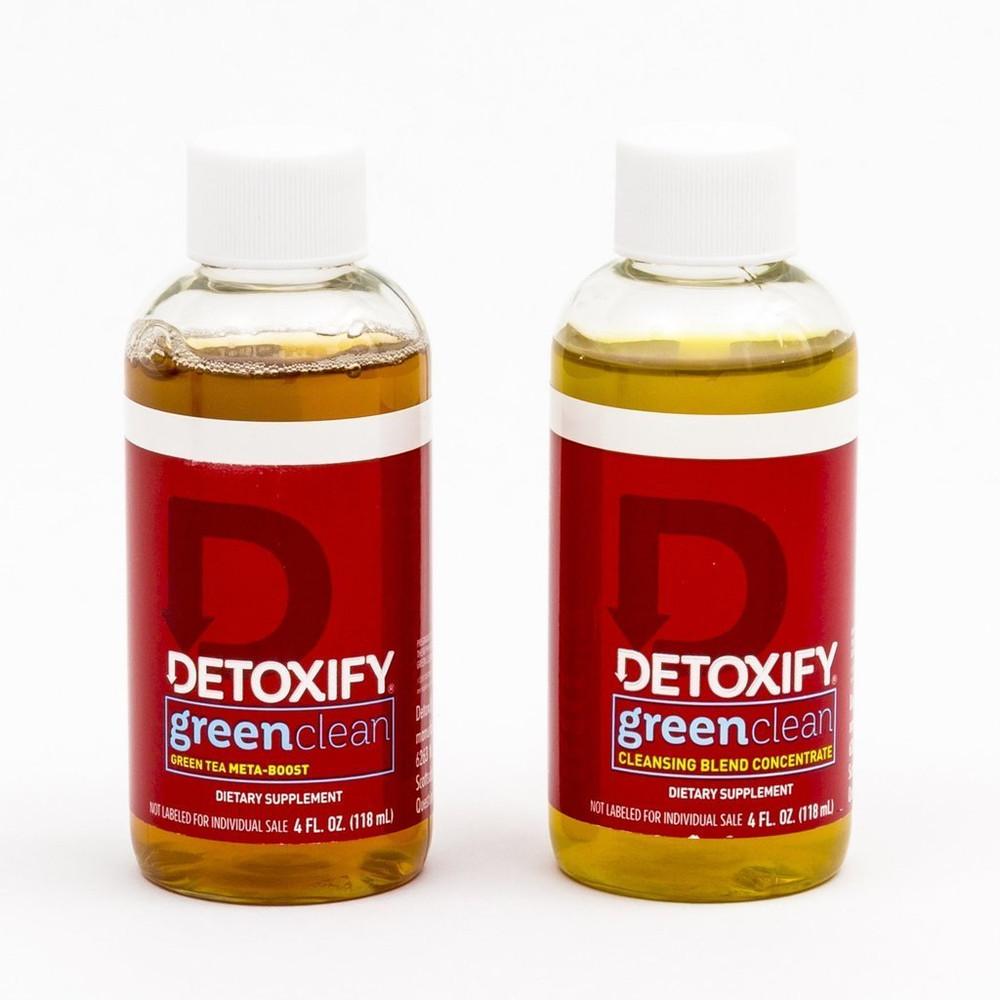 Detoxify Green Clean bottle