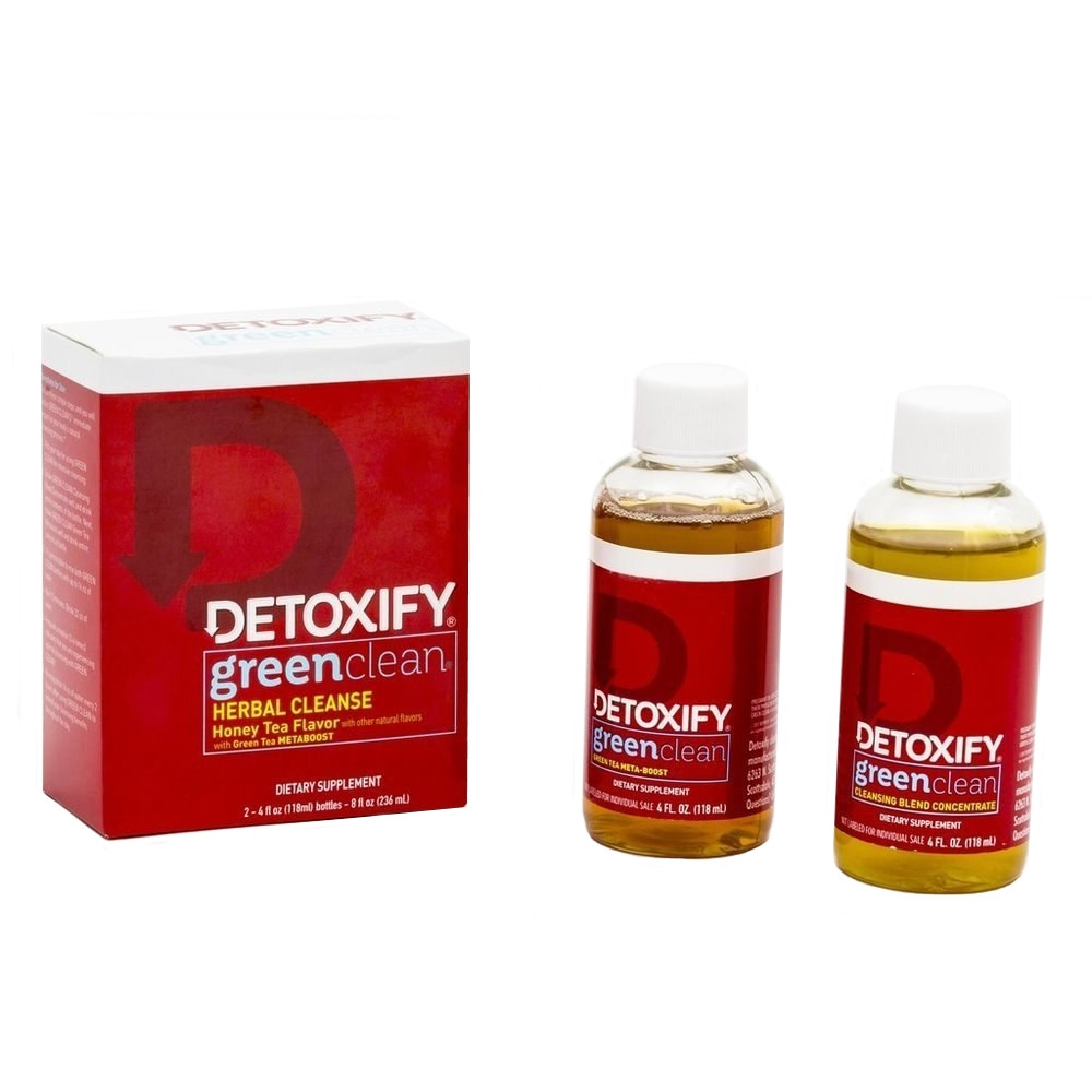 Detoxify Green Clean detox system cleanse flush drink