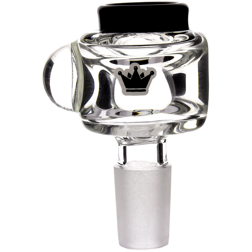 Krave-branded dry herb bowl included with every Freezer Ball Beaker Bong.