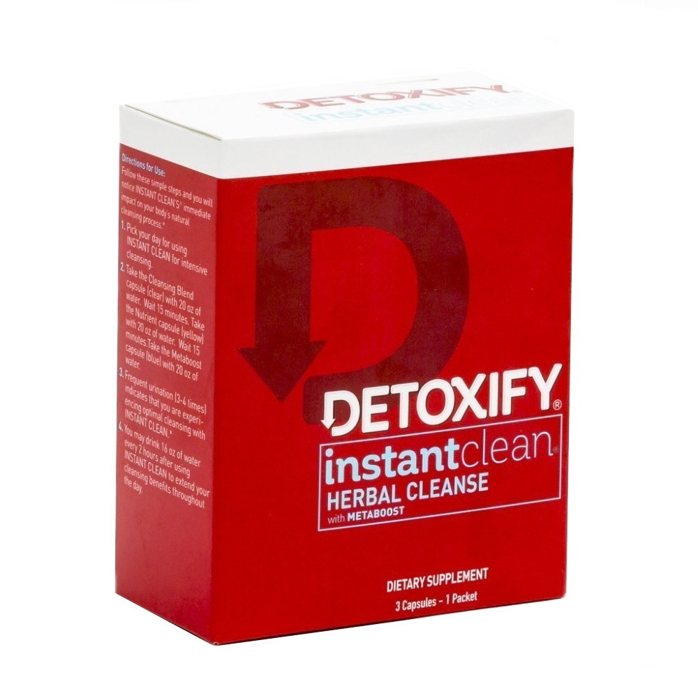 Detoxify Instant Clean lowest price online buy detox cleanse