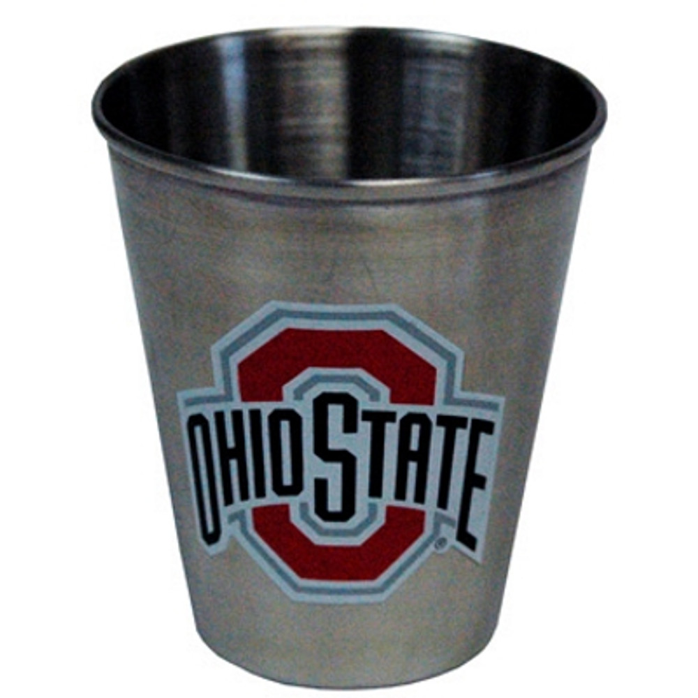 Ohio State Stainless Steel Shot Glass