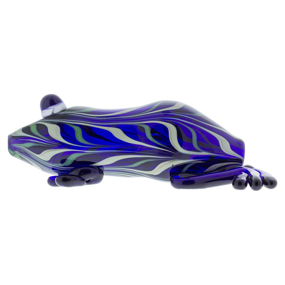 Glass Frog Pipe Side Image