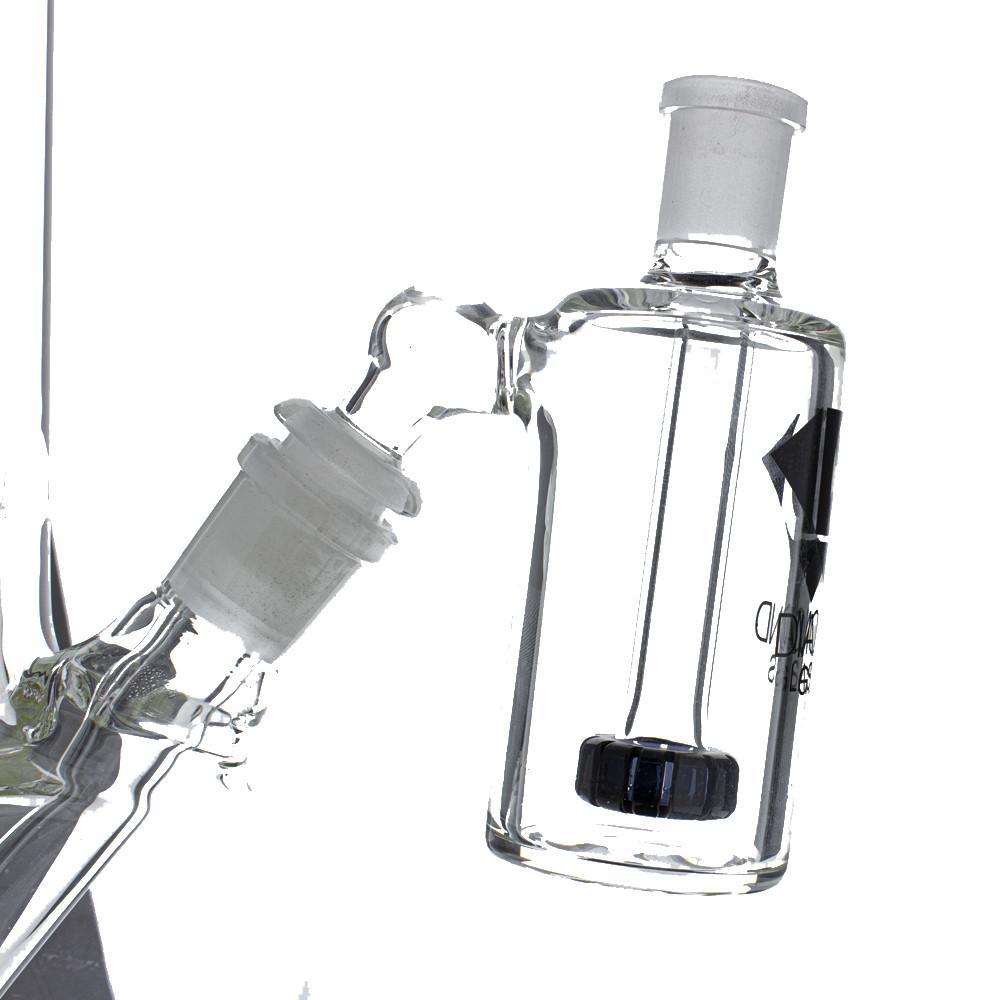 Diamond Glass Jewel Ash Catcher on a waterpipe.