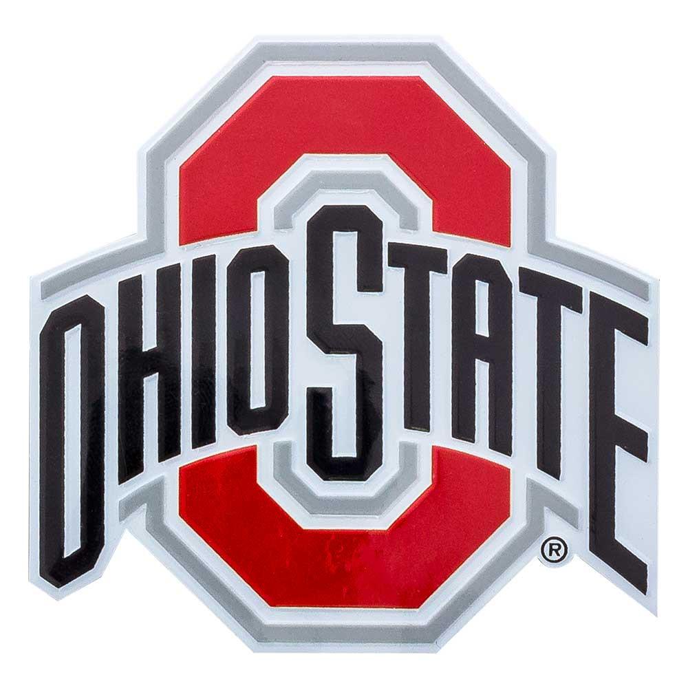 Ohio State Metal Decal