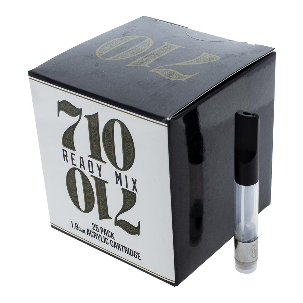 710 1.0 ml Acrylic Cartridge for sale online headshop