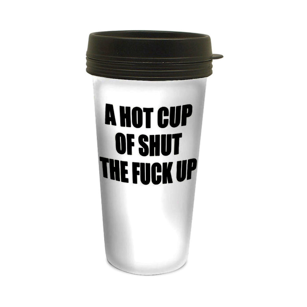 """""""STFU"""" Travel Mug"""