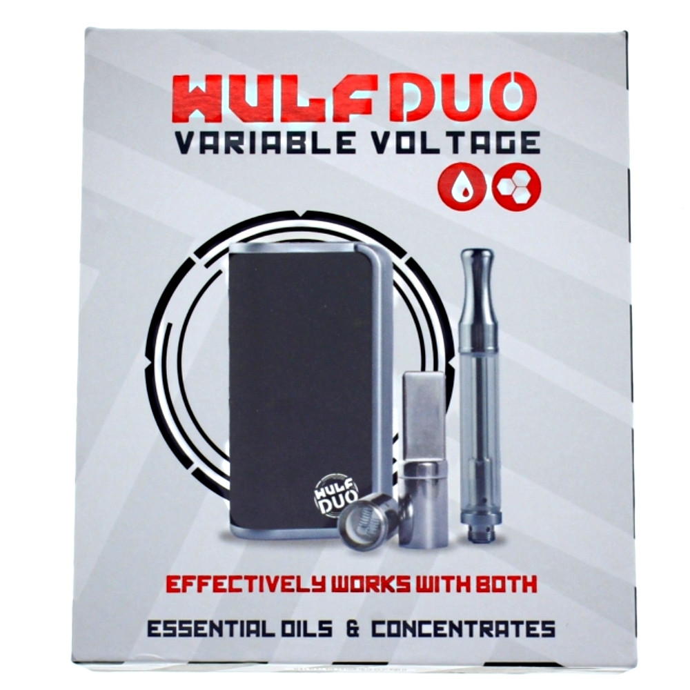 Wulf Duo 2-in-1 Concentrate Vaporizer front box